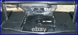 1994 JVC PC-X110 CD Player Portable System, Radio, Dual Cassette Boombox TESTED