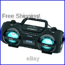 AEG SR 4359 BT Portable Stereo (CD Player, MP3, Bluetooth Pairing)