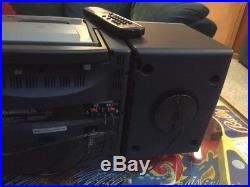 Aiwa CA-DW530 CD Player Dual Cassette Radio Boombox Portable Stereo Vintage 1998