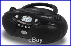 Axess Portable Thunder Blast CD Player AM/FM Bluetooth Boombox PBBT3862