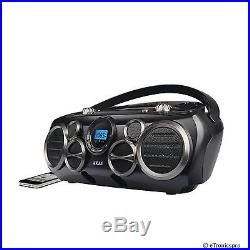 BLUETOOTH WIRELESS STREAMING PORTABLE 6 SPEAKER SUBWOOFER SYSTEM CD PLAYER RADIO