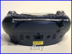 Batman Portable Stereo CD Player AM FM Radio Boombox Model BA10004 Rare
