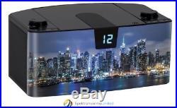 Bigben CD57 Portable CD Player New York by night USB MP3 Radio AUX-IN AU348392