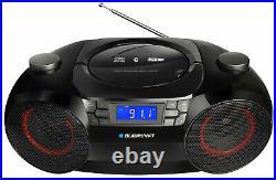 Blaupunkt 1.96 kg Black Portable CD player MP3 AM/FM Bluetooth USB/SD LCD BB30BT