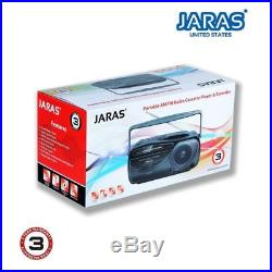 Boombox MP3 AM/FM Sony Portable Stereo with CD Player Radio Cassette Recorder NEW