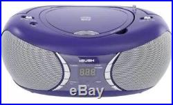 Bush Portable CD and MP3 Player Stereo Boombox Purple