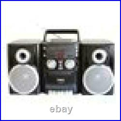 CD Player AM FM Stereo Boombox Portable Radio Cassette Tape Recorder Old School