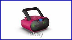 CD Player Boombox Portable Radio AM/FM Bluetooth Boombox MP3/CD, USB, mSD, Aux