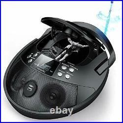 CD Player, CD Player Boombox Portable, Portable CD Player Boombox with Black