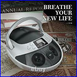 CD Player, CD Player Boombox Portable, Portable CD Player Boombox with USB, Rad