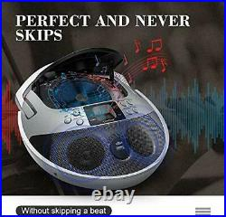 CD Player, CD Player Boombox Portable, Portable CD Player Boombox with White