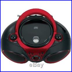 CD Player Portable with AM/FM Radio and Aux Line-In Digital Music Audio Jensen