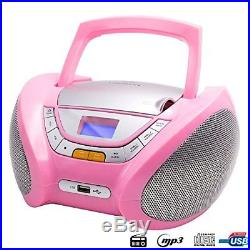 Cd-player For Children Boombox Stereo Portable Radio Cd Player With Usb Us
