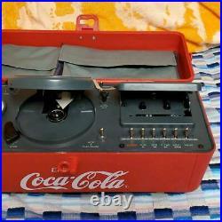 Coca Cola Boombox TEAC PC-D10 Cassette Tape Radio CD Portable Player Vintage JP