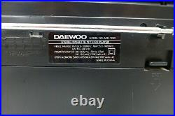 Daewoo ACD-7200 Boombox Portable Radio Stereo Cassette CD Player