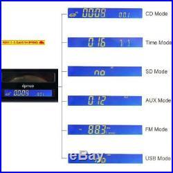 Dpnao Multi Portable Cd Player With Fm Radio Clock