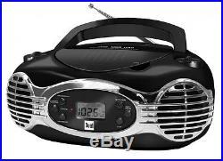 Dual P 30 Portable Boombox CD-Player, Radio, USB- und Kopfhöreranschluss Schwarz