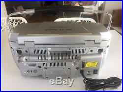 EXCELLENT Haier Portable DVD Player CD AM FM Radio TV Boombox 7 Screen PDTB7