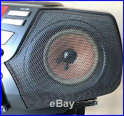 EXTRA SHARPSony CFD-G50 Boombox Portable Cassette CD Player AM/FM Stereo Radio