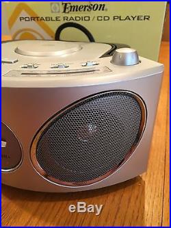 Emerson Portable Radio/CD Player PD6810 NEW Open Box