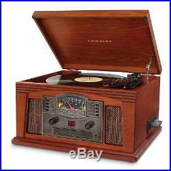 Entertainment Portable CD Cassette Vintage Player AM/FM Radio Stereo Speaker