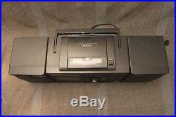 Excellent Panasonic RX-DS620 Boom Box Portable AM/FM Stereo Cassette CD Player