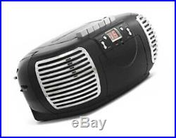 GPO PCD299 Portable Retro Boombox CD Player, Radio and Cassette Player Mains /