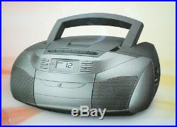 GPX Inc, BCA206S Portable AM/FM Boombox with CD and Cassette Player NIB S9150