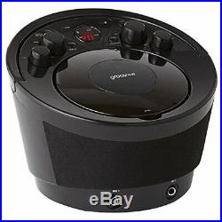 Groov-e Portable Party Karaoke Boombox Machine with CD Player, Bluetooth