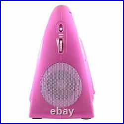 HamiltonBuhl Juke24 Portable, Digital Jukebox with CD Player and Karaoke Fu