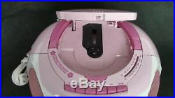 Hello Kitty Boom Box Am/fm Stereo & CD Player & Cassette Player / Portable