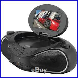 Ilive Blue Gpxibd704B Ilive Blue Cd And Dvd And Radio Boom Box With Bluetooth
