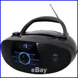 JENSEN CD-560 Portable Stereo CD Player with AM/FM Stereo Radio Bluetooth(R)