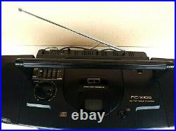 JVC PC-X100 CD Portable Stereo System (Boombox)