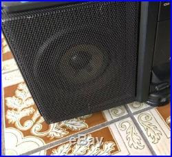 JVC PC-X100 Portable Speaker System CD/Tape Player Boombox