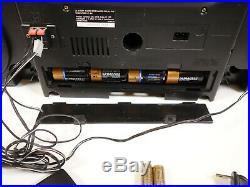 JVC PC-XC50 Portable Stereo Boombox 6+1 CD Changer AM FM Radio Tape Player RXC50
