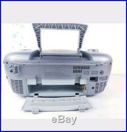 JVC RC-EX30 Portable Stereo CD System Cassette Player Radio Tuner Boombox