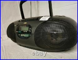 JVC RC-Q50 Portable CD Cassette AM/FM Player Boom Box Freepost
