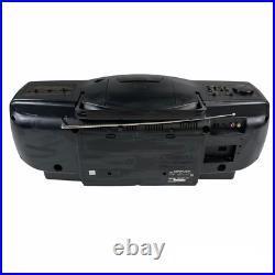 JVC RC-X610 CD Portable System Boom Box Cassette Player Stereo CD