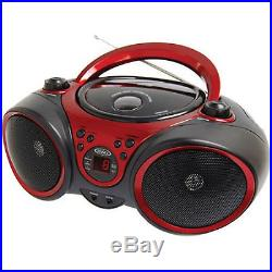 Jensen CD-490 Portable Stereo CD Player with AM/FM Stereo