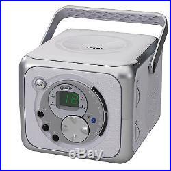 Jensen CD- 555 Portable Wireless Bluetooth Audio Music System CD Player Boombox