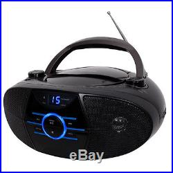 Jensen CD-560 Portable with AM/FM Stereo, Durable CD Player with Bluetooth