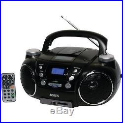 Jensen Cd-750 Portable Am/fm Stereo Cd Player With Mp3 Encoder/player 13.40in