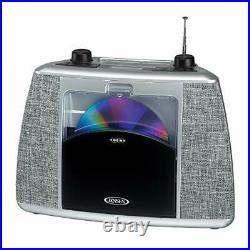 Jensen Home CD Player System Sport Handle + Bluetooth Boombox Portable Blueto