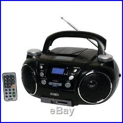 Jensen Portable Am And Fm Stereo Cd Player w Mp3 Encoder & Player New