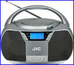 Jvc Rd-d228h Portable CD Player Stereo Boombox Fm Radio Mains/battery Rrp £49