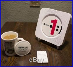 KECAG CD Player Wall Mountable Bluetooth Boombox Portable Home Audio With FM