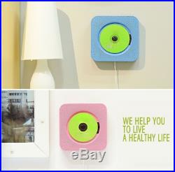 KECAG CD Player Wall Mountable Bluetooth Boombox Portable Home Audio with Remote