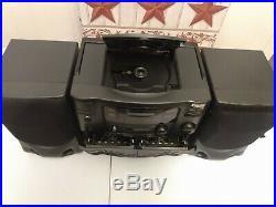 Koss Hg910 Portable Boombox Am/fm CD Cassette Player