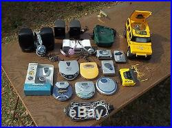 LOT of Vintage Portable CD Player- Sony Walkman, Aiwa, Philips ALL WORKING